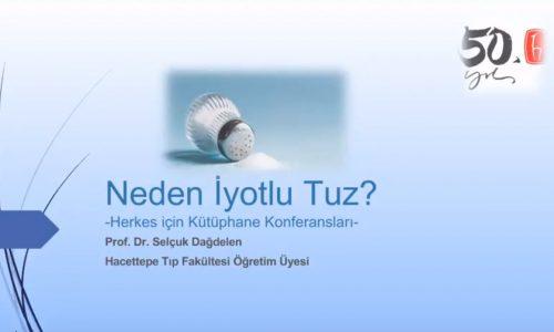HİK-HÜMED Webinarlar Serisi 1. Webinar: Neden İyotlu Tuz?