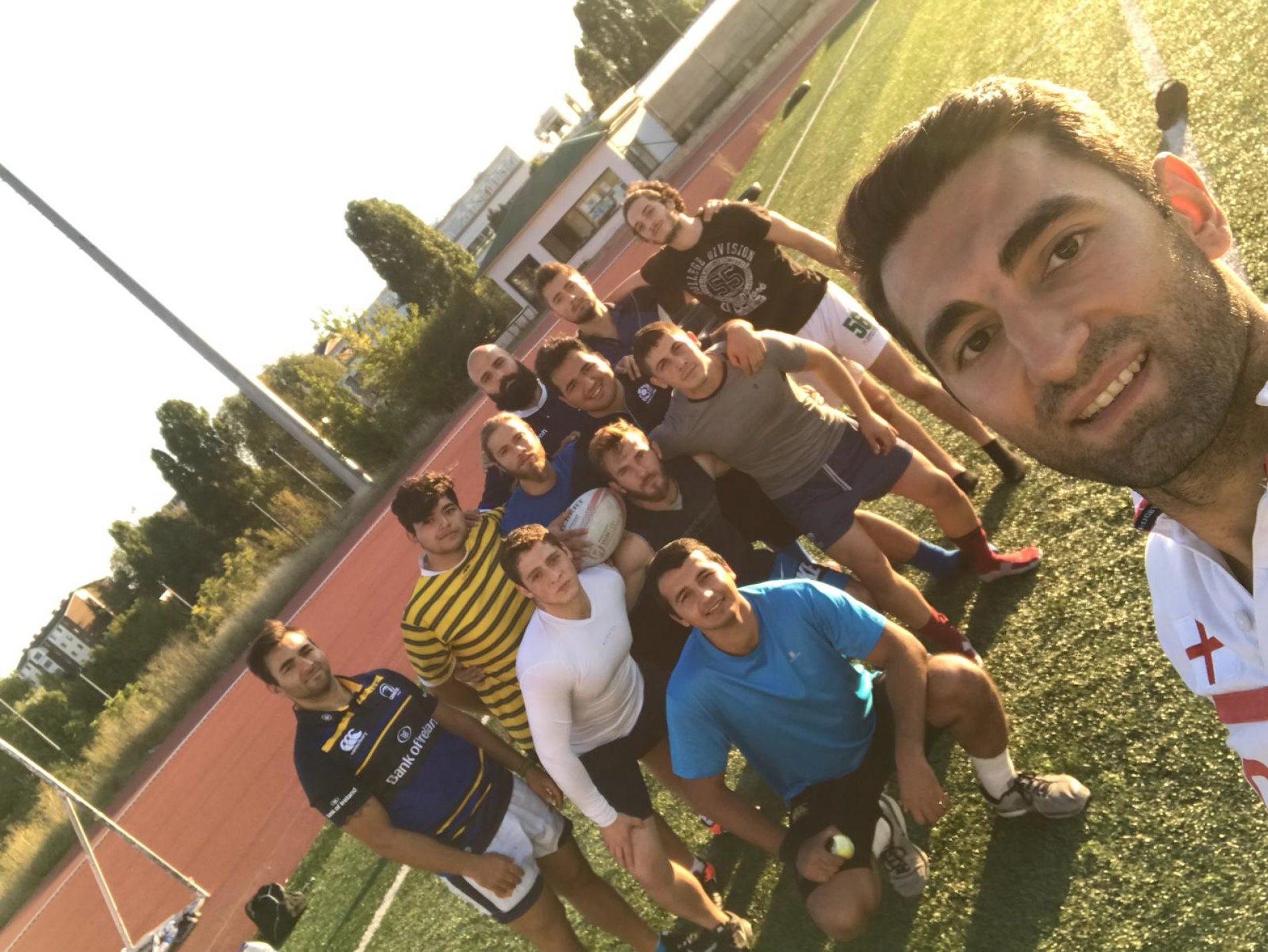 HÜ Ragbi Takımı Yeni Sezon Hazırlıklarına Başladı