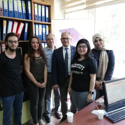 HÜ Matematiksel Düşünme ve Araştırma Topluluğu HÜMED'i Ziyaret Etti