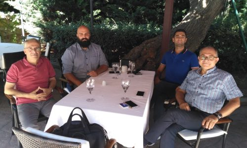 HÜ Ragbi Kulübü Temsilcileri HÜMED Yöneticilerini Ziyaret Etti