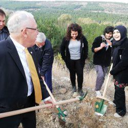 HÜ Ormanı HÜMED Fidan Dikme Etkinliği 9 Kasım 2018 günü yapıldı…