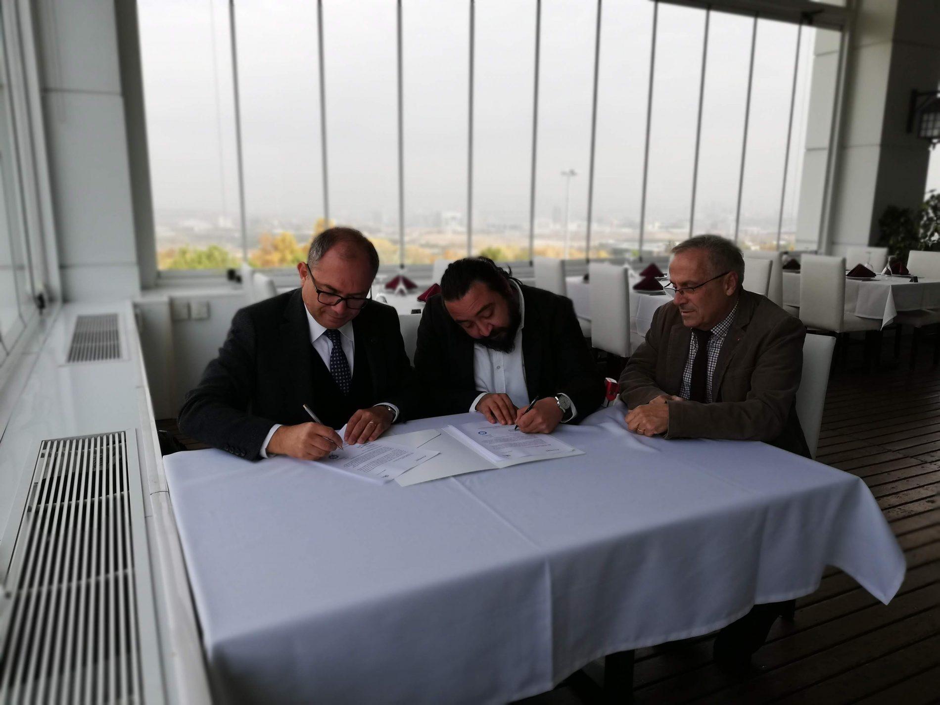 HÜMED ve K-İnovasyon İşbirliği Sözleşmesi 9 Kasım 2018 günü imzalandı