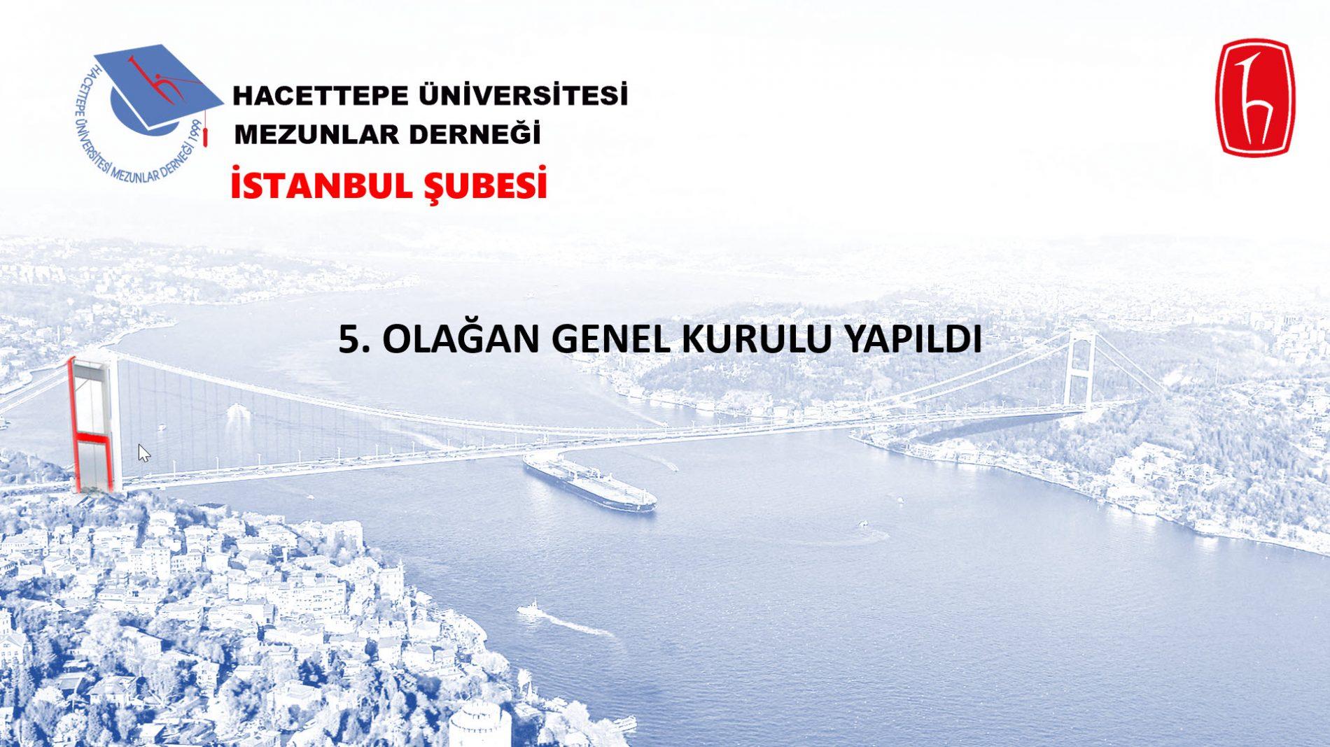 HÜMED İstanbul Şubesi Yeni Yönetimi Göreve Başladı