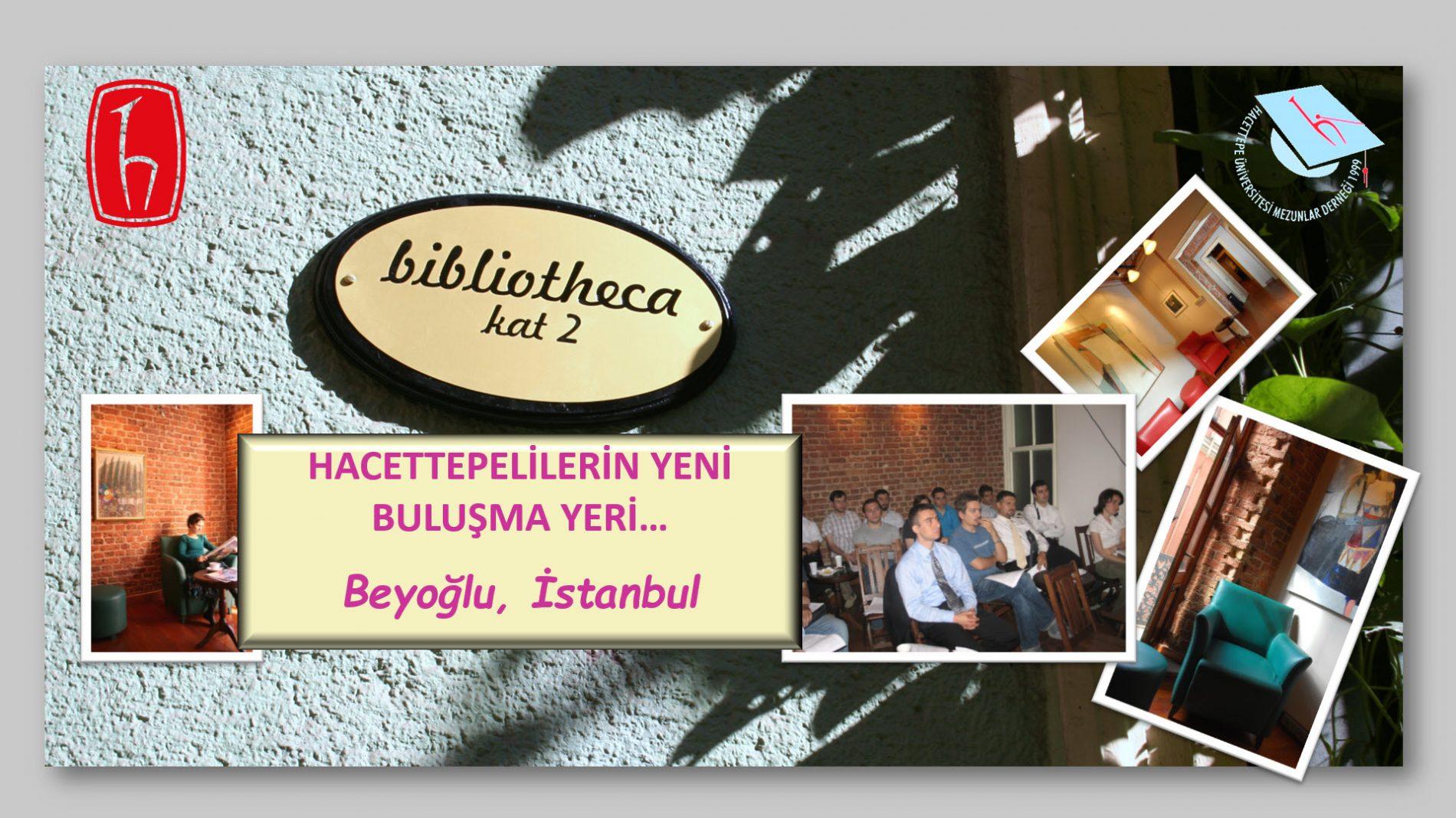 Biblioteka İstanbul Hacettepelilerin Yeni Buluşma Yeri Oldu