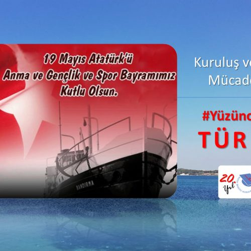 19 Mayıs 1919 – 2019 #YüzüncüYılındaTürkiye