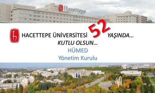 Hacettepe Üniversitesi'nin 52. Yaşı, 8 TEMMUZ HACETTEPELİLER GÜNÜ, Kutlu Olsun
