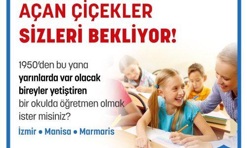 """Kurucusu """"öğretmen"""" olan bir okulda Atatürkçü gençler yetiştirmek ister misiniz?"""