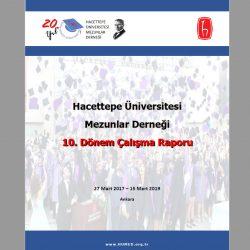 HÜMED 10. Dönem (Mart 2017 – Mart 2019) Çalışma Raporu