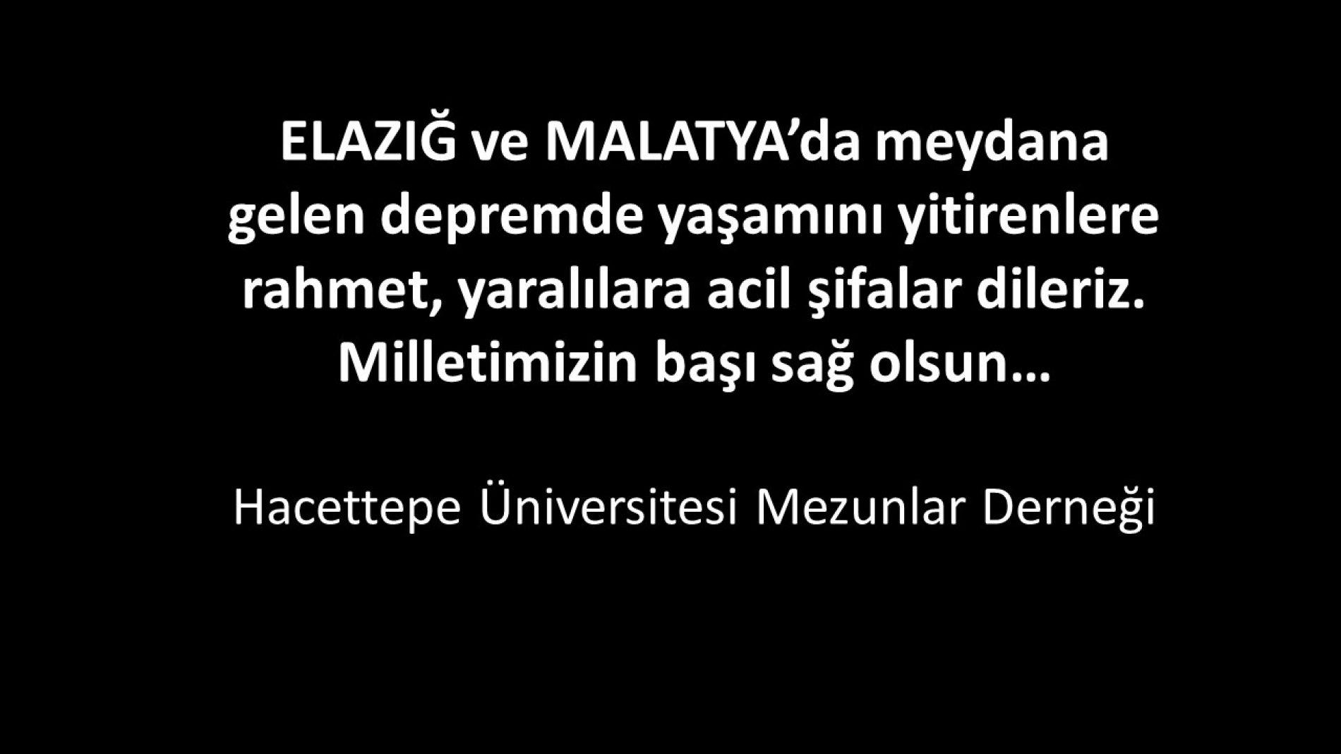 Elazığ – Malatya Depremi