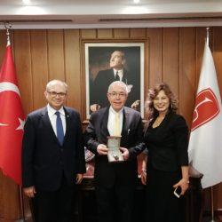 HÜ Rektörü Prof. Dr. Haluk Özen'e Ziyaret