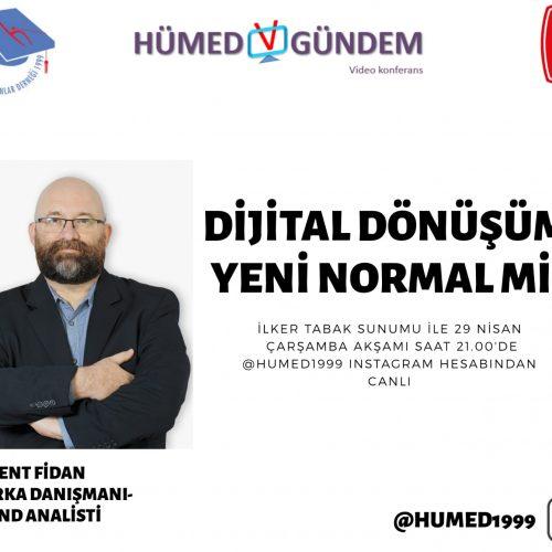 HÜMED v-GÜNDEM #3 : Dijital Dönüşüm Yeni Normal mi?
