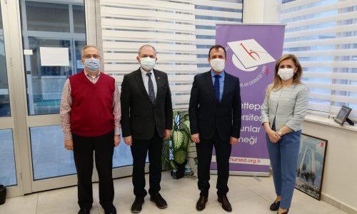 Ankara İl Sivil Toplumla İlişkiler Müdürü Sn. Haluk Teber HÜMED'i Ziyaret Etti