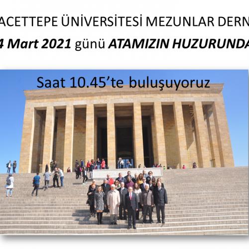 24 Mart 2021 – ATAMIZIN HUZURUNDAYIZ