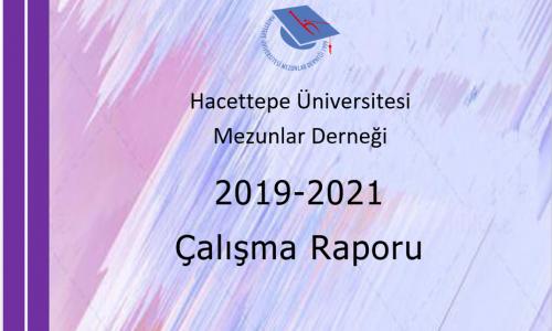 HÜMED 2019-2021 Dönemi Çalışma Raporu