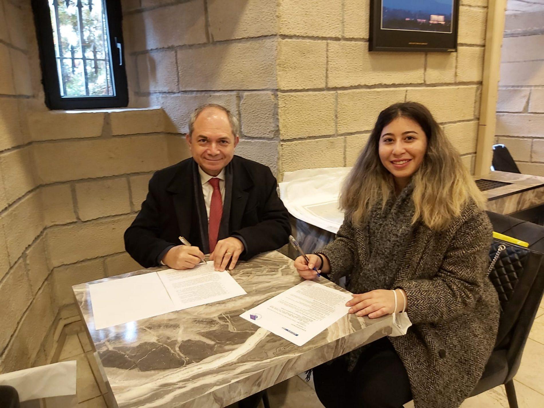 HÜMED ve AIESEC Ankara İşbirliği Sözleşmesi Yenilendi (24.03.2021)