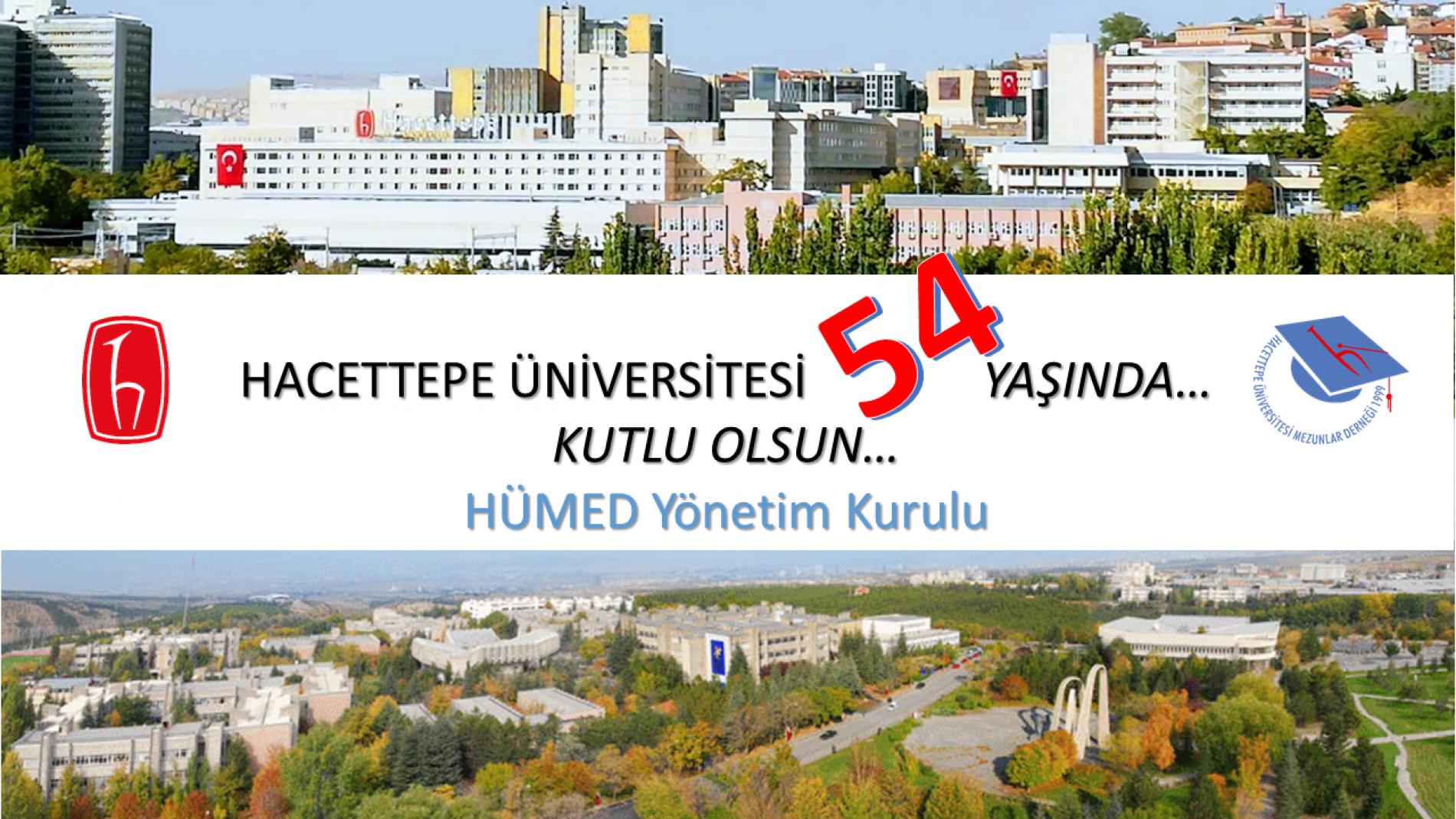 Hacettepe Üniversitesi'nin 54. Yaşı, 8 TEMMUZ DÜNYA HACETTEPELİLER GÜNÜ, Kutlu Olsun