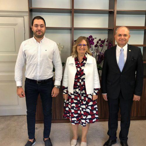 MEB Bakan Yardımcısı Sn. Prof. Dr. Petek Aşkar'a Ziyaret